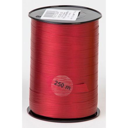 Matline - Gavebånd i mørke rød 10 mm x 250 meter, 5 ruller i en pakke