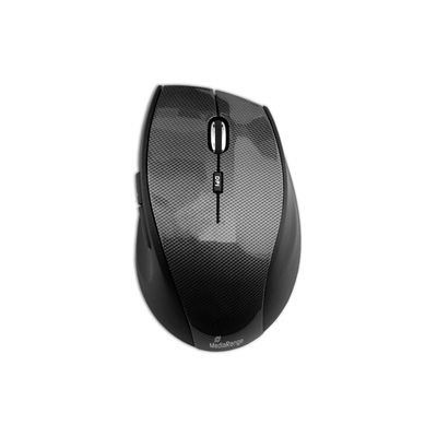 MediaRange Highline Optical 5-button wireless mouse, Black
