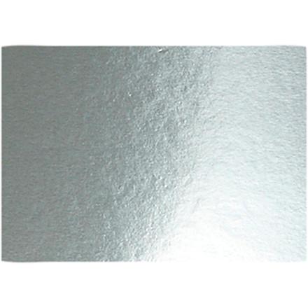 Metalkarton A4 21 x 30 cm 280 gram sølv | 10 ark