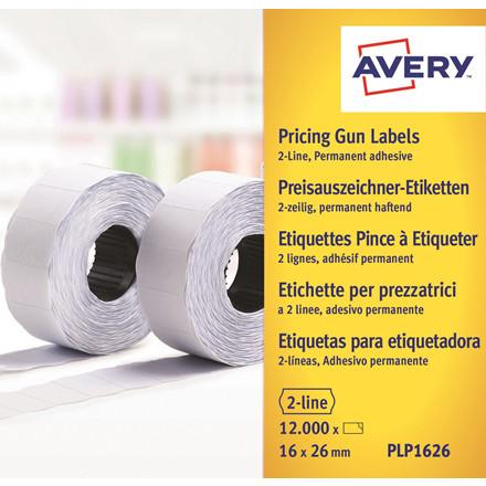 METO Labels 26x16 G2 White 10-rolls
