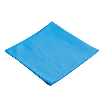 Microfiber klud, Nilfisk, blå, 80% polyester, 20% polyamid, 45x45 cm