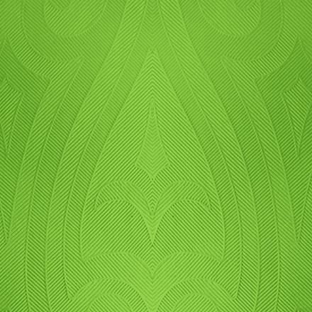 Middagsserviet, Duni Elegance Lily, 1/4 fold, præget, grøn, 40x40 cm