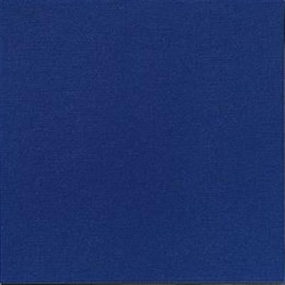 Middagsserviet, Dunilin, 1/4 fold, mørkeblå, 40cm x 40cm