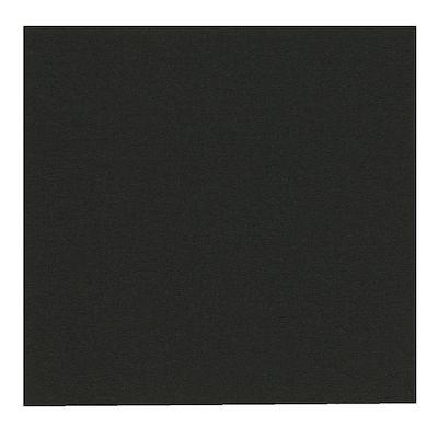 Middagsserviet, Gastro-Line, 3-lags, 1/4-fold, sort, papir, 40cm x40cm