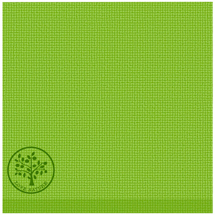 Middagsserviet, Love Nature Jute, 1/4 fold, 40x40cm, olivengrøn, Linclass