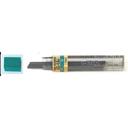 Pentel Stifter 0,7 mm H - 12 stk pr tube 2370163 - 12 tuber