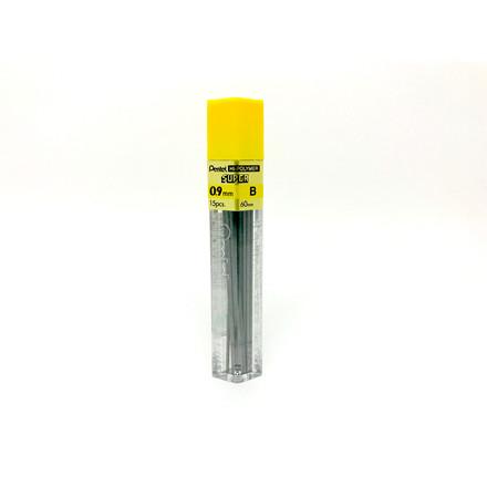 Pentel Stifter 0,9 mm B - 15 stifter pr tube 2390161 - 12 tuber