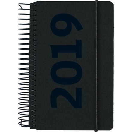 Minispiralkalender 2019 Mayland fiberpap matsort Årstal 8 x 12,6 cm 1 dag/side - 19 2300 00