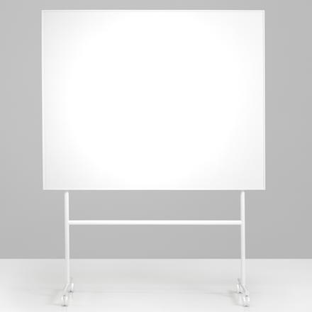 Whiteboard tavle på stativ - hvid Lintex ONE whiteboard 200 x 120 cm