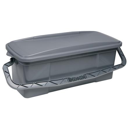 Mop box, Vikan ErgoClean, grå, complete, 40 cm,