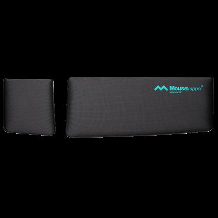 Mousetrapper håndledsstøtte - Til  Advance 2.0 black/turquoise