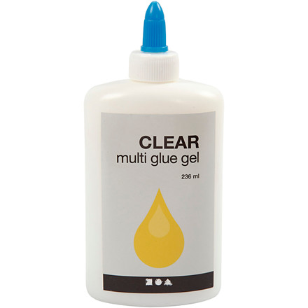 Multi Glue Gel Clear - 236 ml