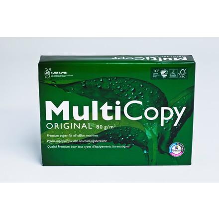 Multicopy kopipapir A4 80 gram - 500 ark papir