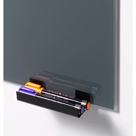 Naga 23956 penneholder i sort metal - passer til Naga glastavler