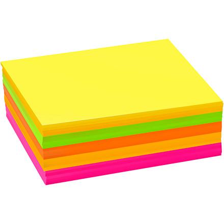 Neonkarton, A6 10,5x15 cm, 180 g, ass. farver, 300ass. ark