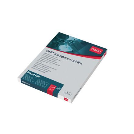 Nobo Transparenter A4 - Til blæk printer - 50 stk