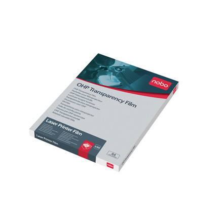 Nobo Transparenter A4 - Til mono laser printer - 50 stk