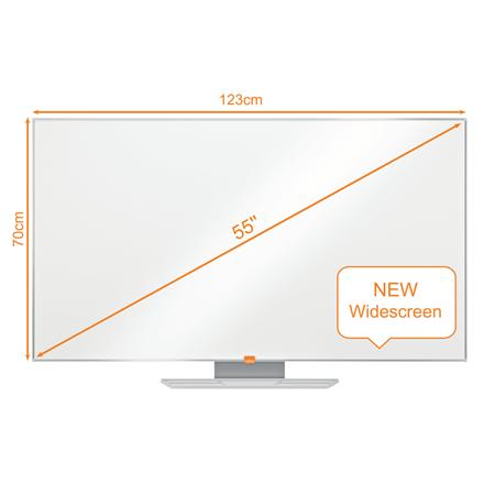 "Nobo WB tavle NanoClean widescreen 55"""