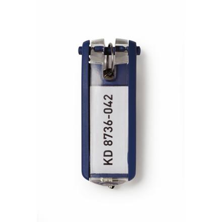 Mørke blå Nøgleskilte til Durable Key Box - 65 x 25 mm