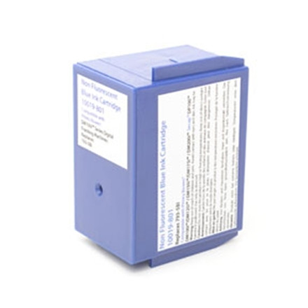 Pitney Bowes DM100 - Kompatibel blå blækpatron