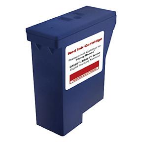 Pitney Bowes DM50 - Kompatibel rød blækpatron