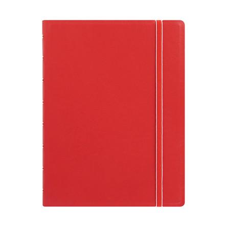 Notebook Filofax A5 rød incl linierede blade