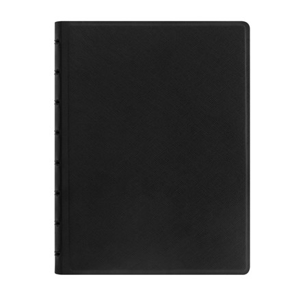 Notebook Filofax A5 sort incl linierede blade