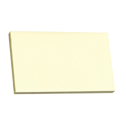 Notes Q-line Stick'N gul 76x127mm 100blade 12stk/pak