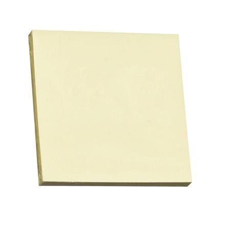 Notes Q-line Stick'N gul 76x76mm 100blade 12stk/pak