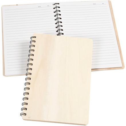 Notesbog, str. 15,5x22,3 cm, 1stk.