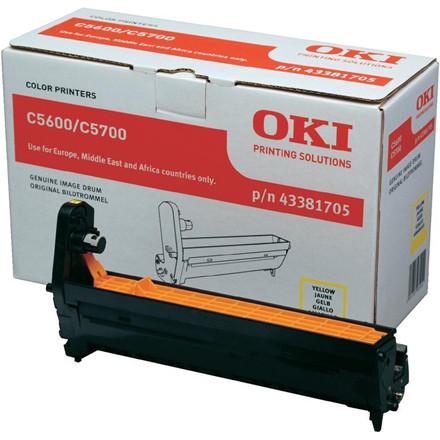OKI C5600/C5700 drum yellow