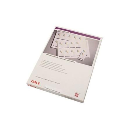 OKI - C7000/C9000 visitkort 5 x 9 cm - 500 kort