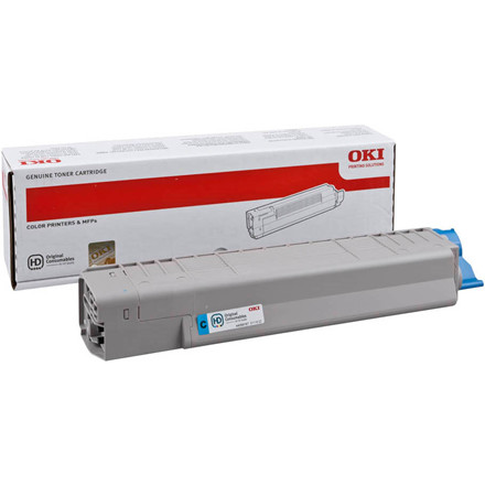 OKI MC851/861 toner cyan 7.3K