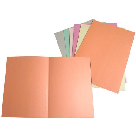 Omslag A4 i 250 gram karton uden klapper - Grå