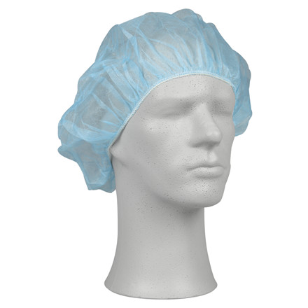 Operationshue, Abena, blå, engangs, nonwoven polypropylen, one size, 53 cm,