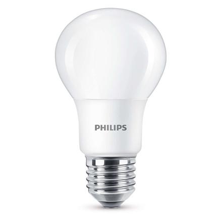 Pære LED 60W Std. E27 varm hvid klar 2 pak LED 60W A60 E27 WW 230V FR ND 2BC/6