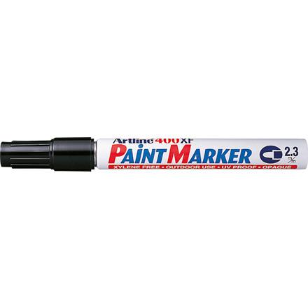 Artline 400XF Paint marker - Sort 2,3 mm rund spids