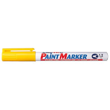 Paint marker Artline EK440 gul 1,2mm rund spids