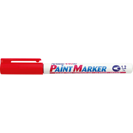 Paint marker Artline EK440 rød 1,2mm rund spids