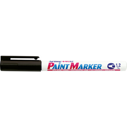 Paint marker Artline EK440 sort 1,2mm rund spids