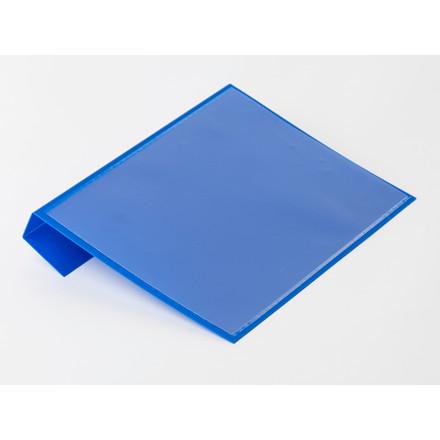 Pallelomme i blå A5 til pallerammer - 50 stk i pakningen