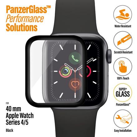 PanzerGlass Apple Watch Series 4 - 5, Black (40 mm)