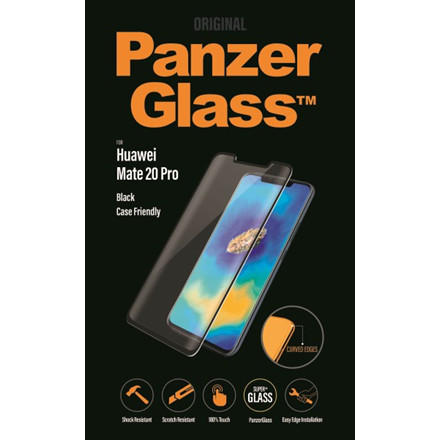 PanzerGlass Huawei Mate 20 Pro, Black (CaseFriendly)