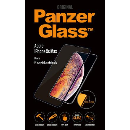 PanzerGlass iPhone Xs Max Privacy (CaseFriendly)