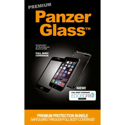 PanzerGlass PREMIUM iPhone 6/6S/7/8 Black w/matt black EdgeG