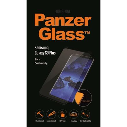 PanzerGlass Samsung Galaxy S9 Plus, Black (CaseFriendly)