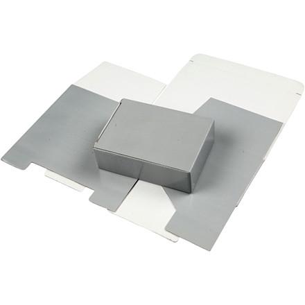 Papæske 15,5 x 5 x 11 cm | lys grå
