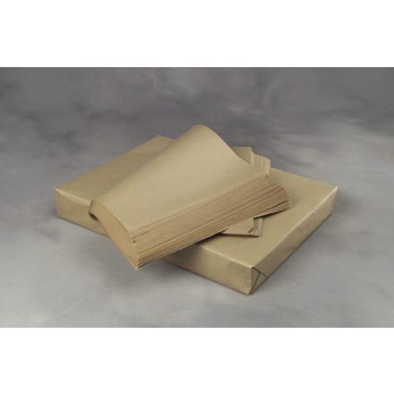 Bruntpapir - i ark 40 cm x 60 cm x 40 g plano 1000 ark i pakken