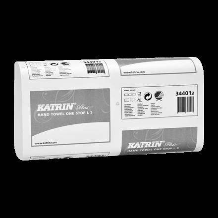 Katrin 344010 Plus One Stop L3 Papirhåndklæde 3 lags 34 cm - 1890 ark