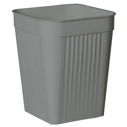 Papirkurv, Bantex, grå, 14 l